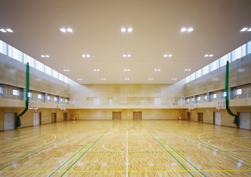 浜松海の星高等学校 体育館_4