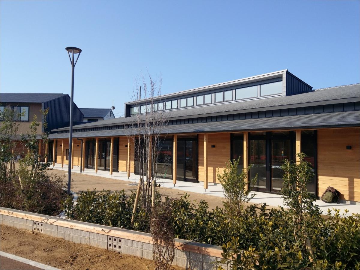 長久手北児童館・北小校区共生ステ-ションが竣工しました
