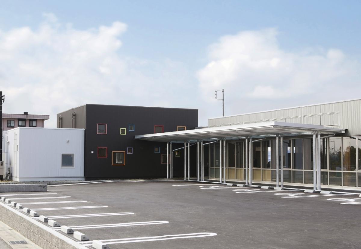 日進市障害者福祉センター 竣工しました