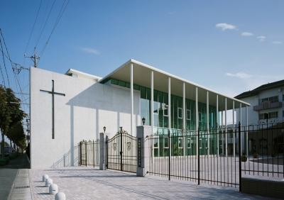 浜松海の星高等学校 体育館